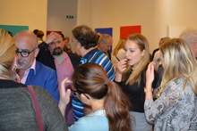 Monokrom, Melker Garays vernissage